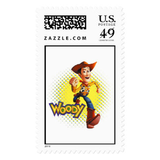 Woody Sheriff Cowboy Disney Postage