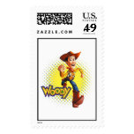 Woody Sheriff Cowboy Disney Postage Stamps