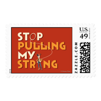 Woody: Stop Pulling My String 1 Postage