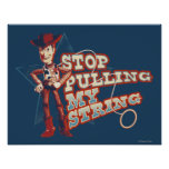 Woody: Stop Pulling My String 2 Poster