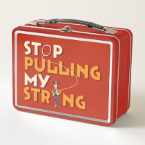 Woody: Stop Pulling My String Metal Lunch Box