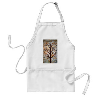 Woody Tree Art Adult Apron