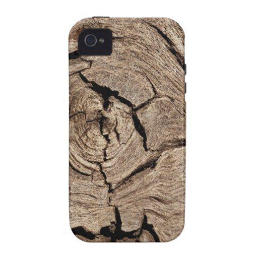 Woody Vibe iPhone 4 Carcasas