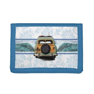 Woody Wave Hawaiian Surfer Wallet