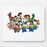 Woody y amigos alfombrilla de ratones