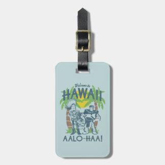 Woody y zumbido - recepción a Hawaii Etiquetas Para Maletas