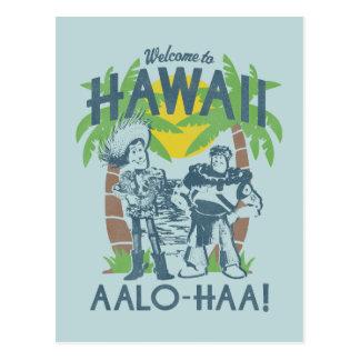 Woody y zumbido - recepción a Hawaii Postales