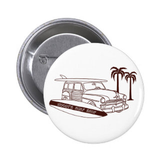 Woody's Surf Shop Pinback Buttons