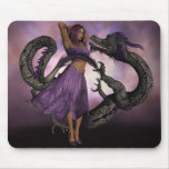 Wooed by the Dragon Mouse Pad