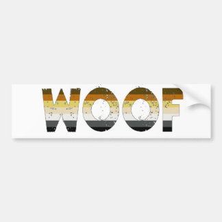 Woof! Bumper Sticker