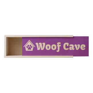 Woof Cave Wooden Wine Box