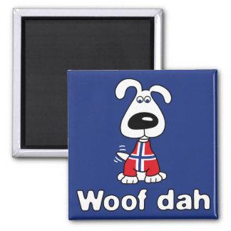 Woof Dah Magnet