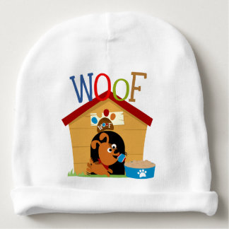 Woof Dog Baby Beanie