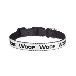 Woof Dog Collar