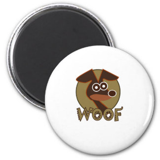 Woof Dog Magnet