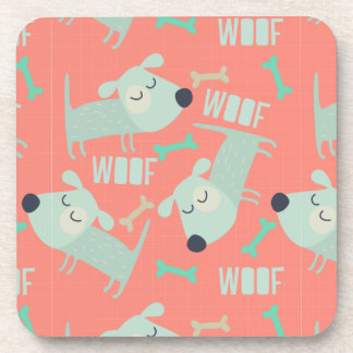 Woof Dogs and Bones Coasters