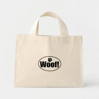 Woof! Euro style! Mini Tote Bag