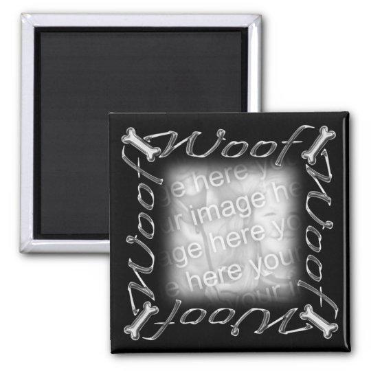 Woof frame magnet