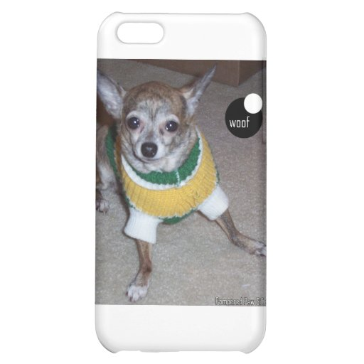 woof-Lady.jpg Cover For iPhone 5C