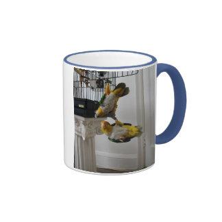 Woof & Meow Ringer Coffee Mug