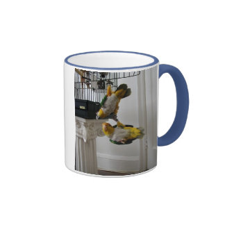 Woof & Meow Ringer Mug