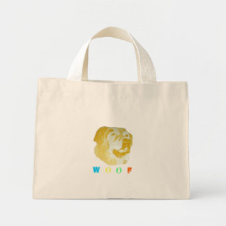Woof Mini Tote Bag
