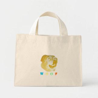 Woof Mini Tote Bag
