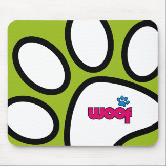 Woof Mousemat Mouse Pad