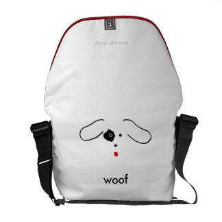 Woof! Multi-Duty Messenger Bag