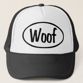 Woof Oval Trucker Hat
