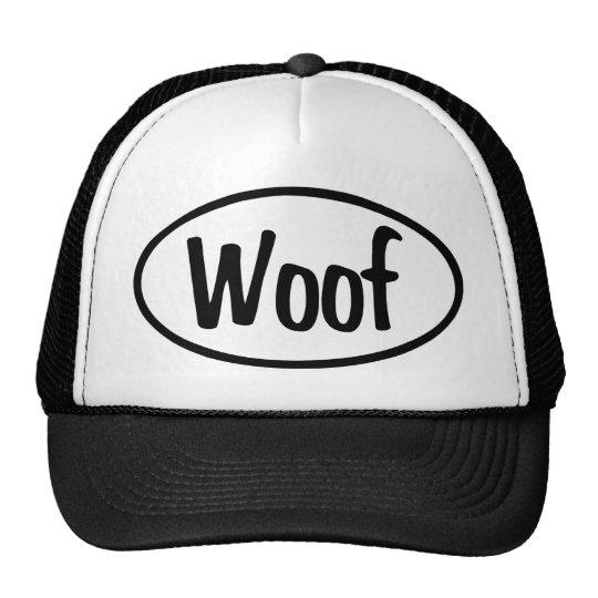 Woof Oval Trucker Hat