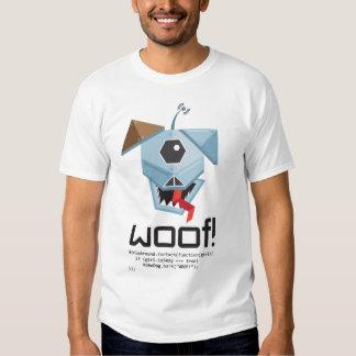 WOOF! Robo Dog detector. Shirt