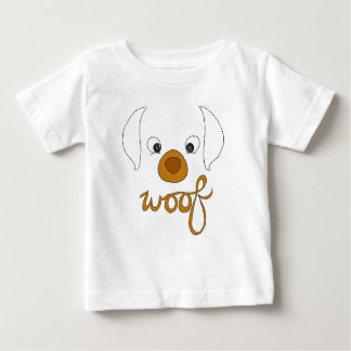 Woof Said the Puppy Baby T-Shirt
