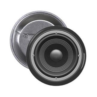 Woofer 2 Inch Round Button