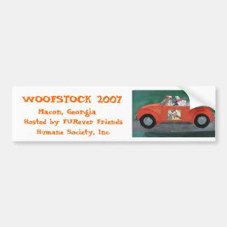 Woofstock 2007  bumper sticker