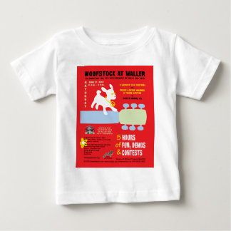 Woofstock at Waller Poster T Shirts