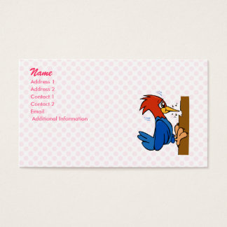 Woogy Woodpecker Business Card