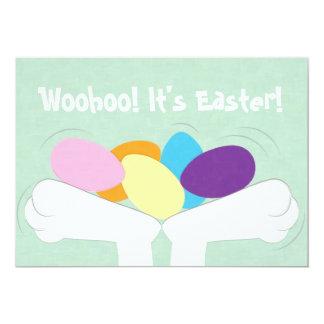 ¡Woohoo! ¡Es Pascua! Invitación de la caza del