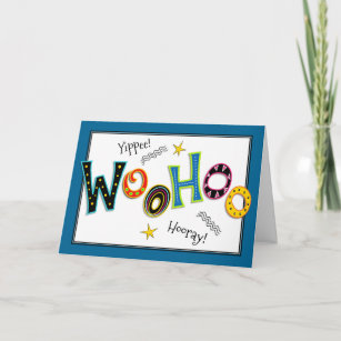 Woohoo Fun Add Any Age Birthday Greeting Card