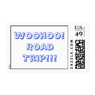 ¡Woohoo! ¡Viaje por carretera!!! Sellos