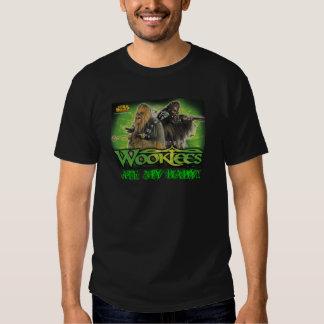 wookiees ate my baby tee shirt