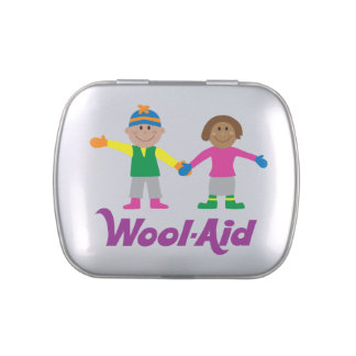 Wool-Aid notions tin (w/Jelly Belly Jelly Beans) Jelly Belly Tin