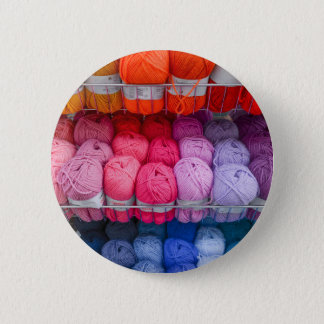 Wool Badge Button