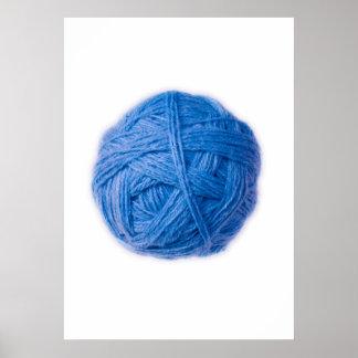 wool ball poster