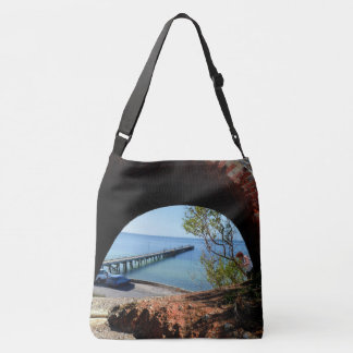 Wool Bay, South Australia, The View, Crossbody Bag