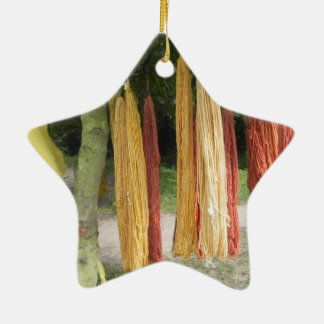 Wool Ceramic Ornament