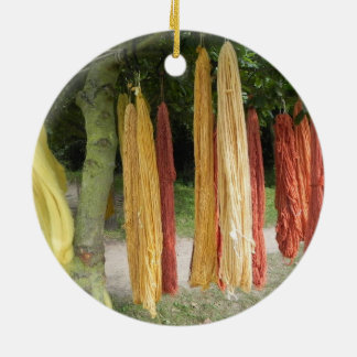 Wool Ceramic Ornament