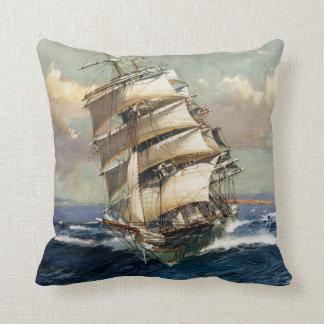 Wool Clipper Satamis Throw Pillow
