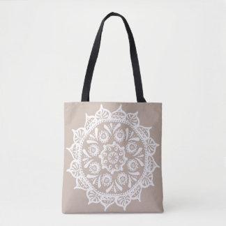 Wool Mandala Tote Bag