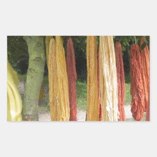 Wool Rectangular Sticker